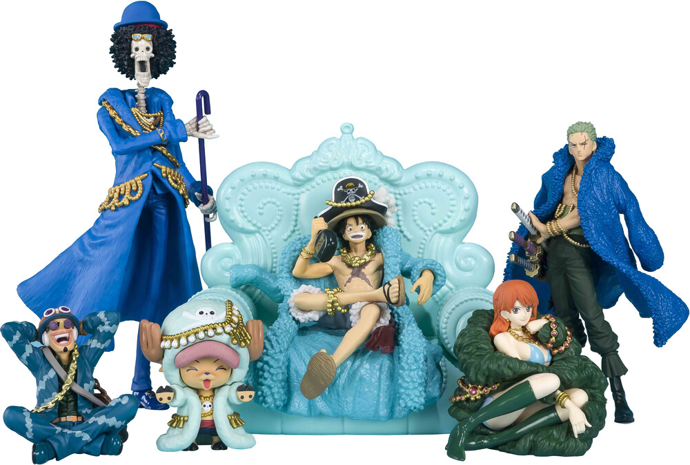 Tamashi Nations - Tamashi Nations - One Piece Vol.2 (Box of 9), Bandai Spirits TamashiiBox