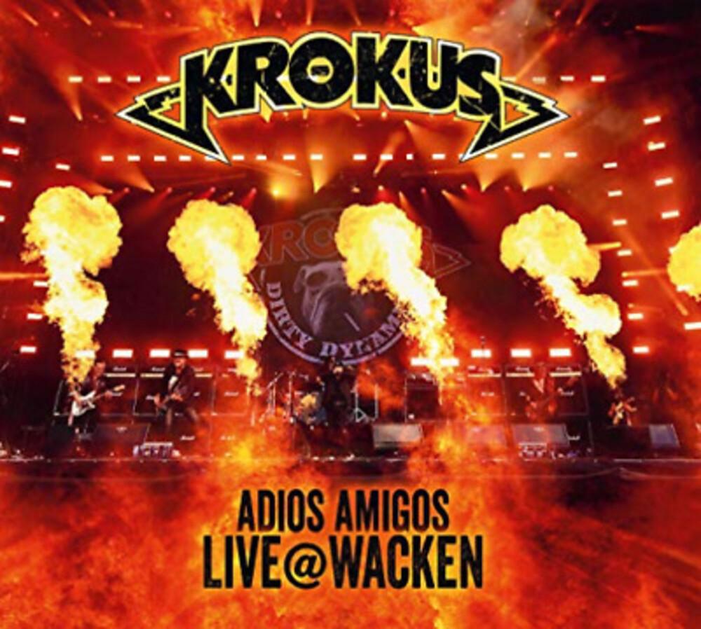 Krokus - Adios Amigos Live At Wacken [CD/DVD]