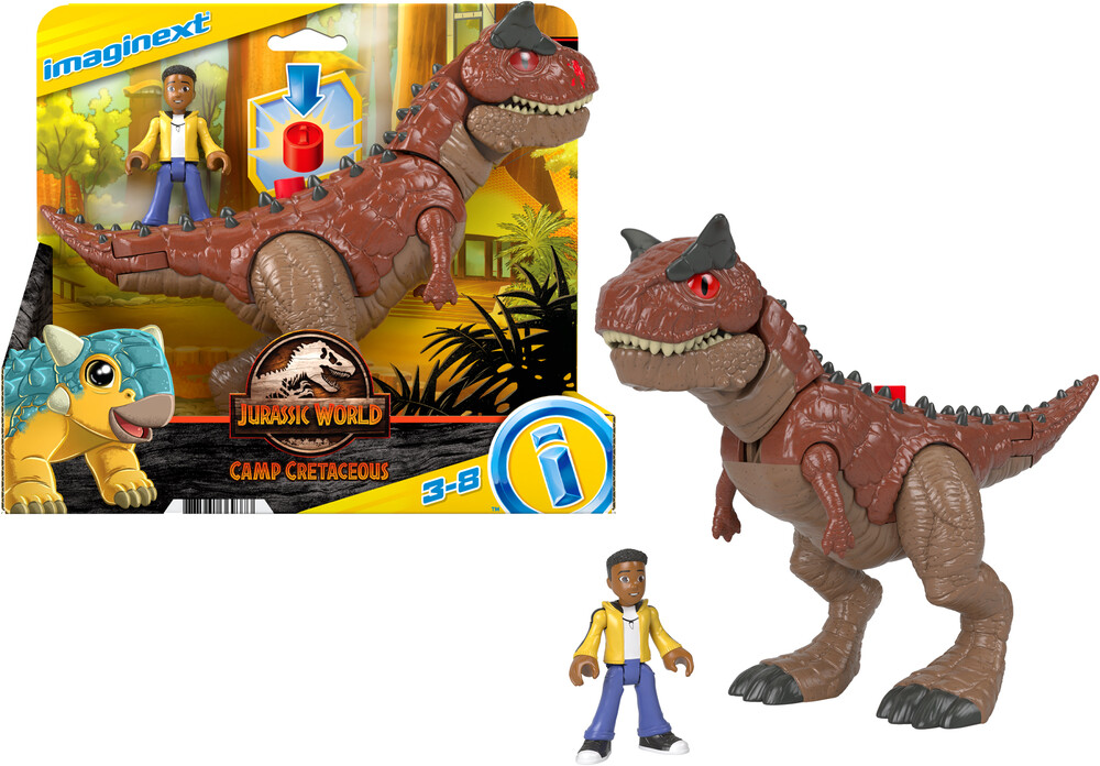 - Fisher Price - Imaginext Jurassic World Camp Cretaceous Toro & Darius