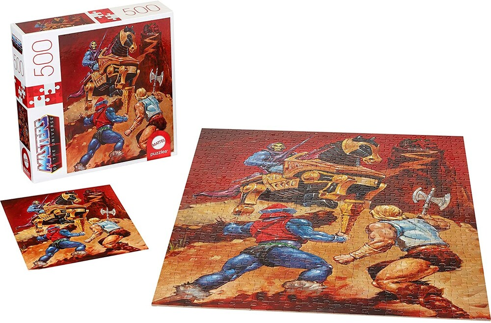 - Mattel Games - Masters of the Universe Skeletor & He-Man 500 Piece Puzzle (He-Man, MOTU)