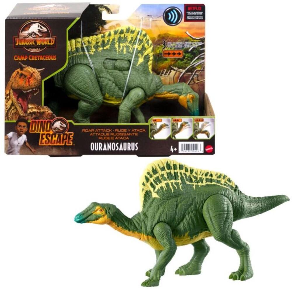 Jurassic World - Mattel - Jurassic World Roar Attack Ouuranasaurus