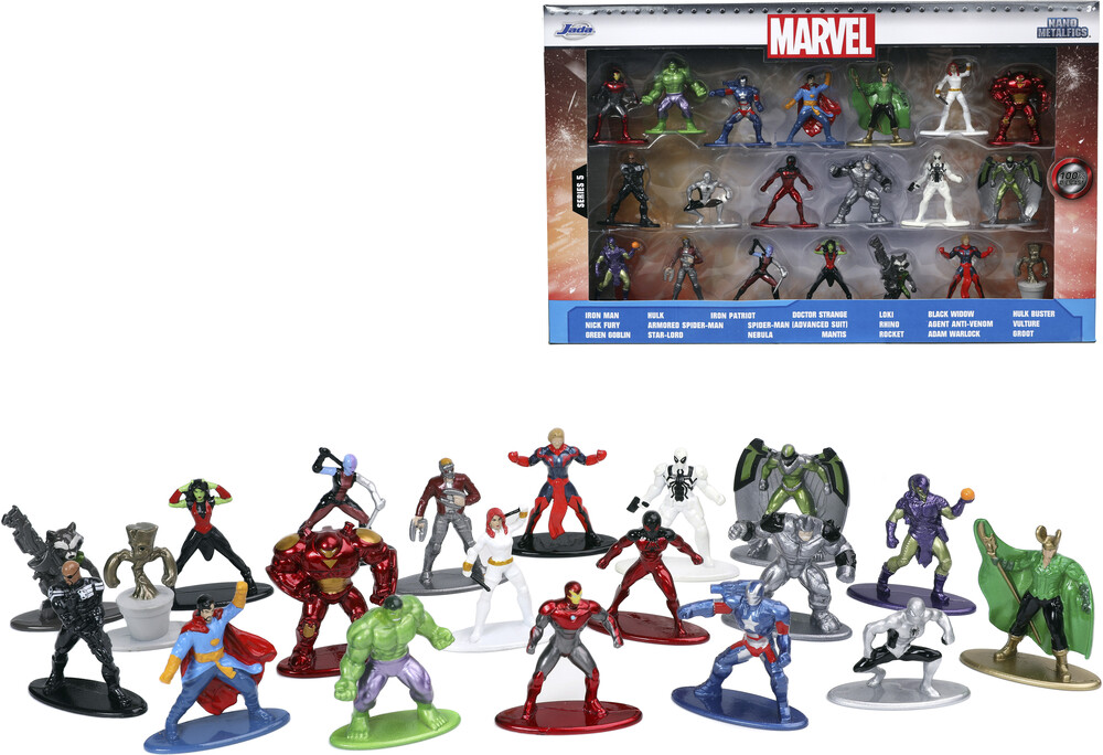- Nano Metalfigs Marvel 20 Pk Wave 5 (Clcb) (Fig)