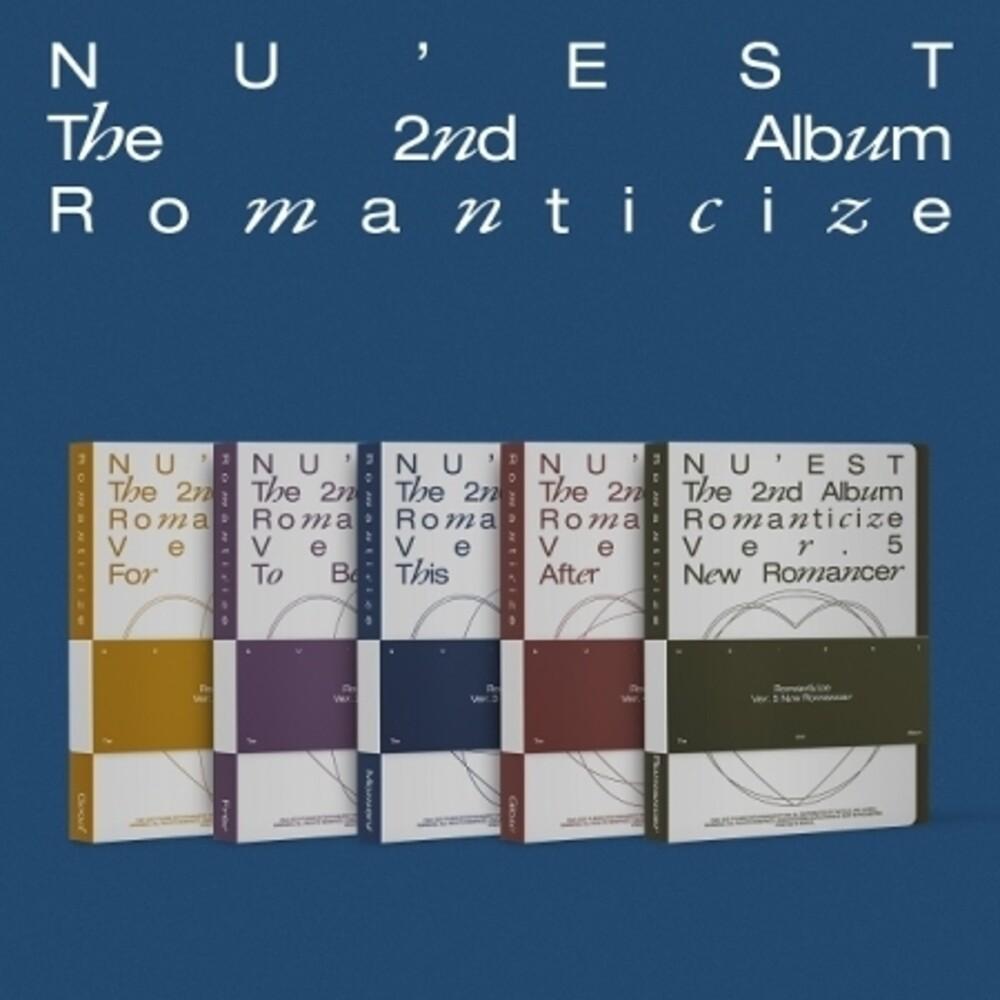 NU'EST - Romanticize (Pcrd) (Phob) (Phot) (Asia)