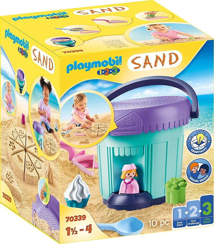 - 123 Bakery Sand Bucket (Fig)