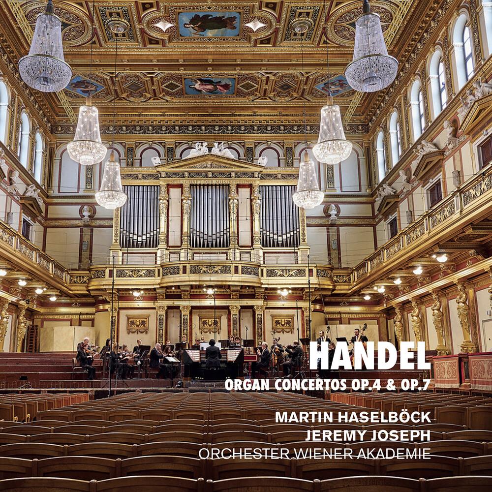 Handel / Haselbock / Joseph - Organ Concertos 4 & 7 (2pk)