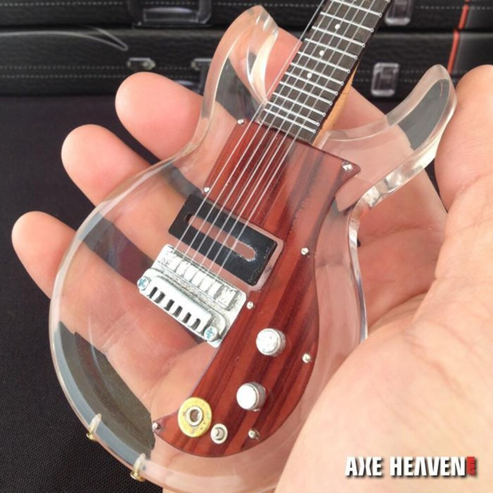 Keith Richards - Keith Richards Rolling Stones Clear Mini Guitar