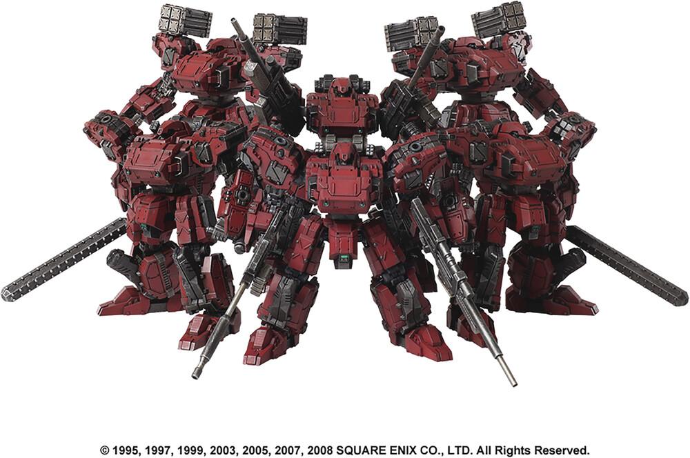 - Front Mission Structure Arts Ser Vol 2 6pc Set