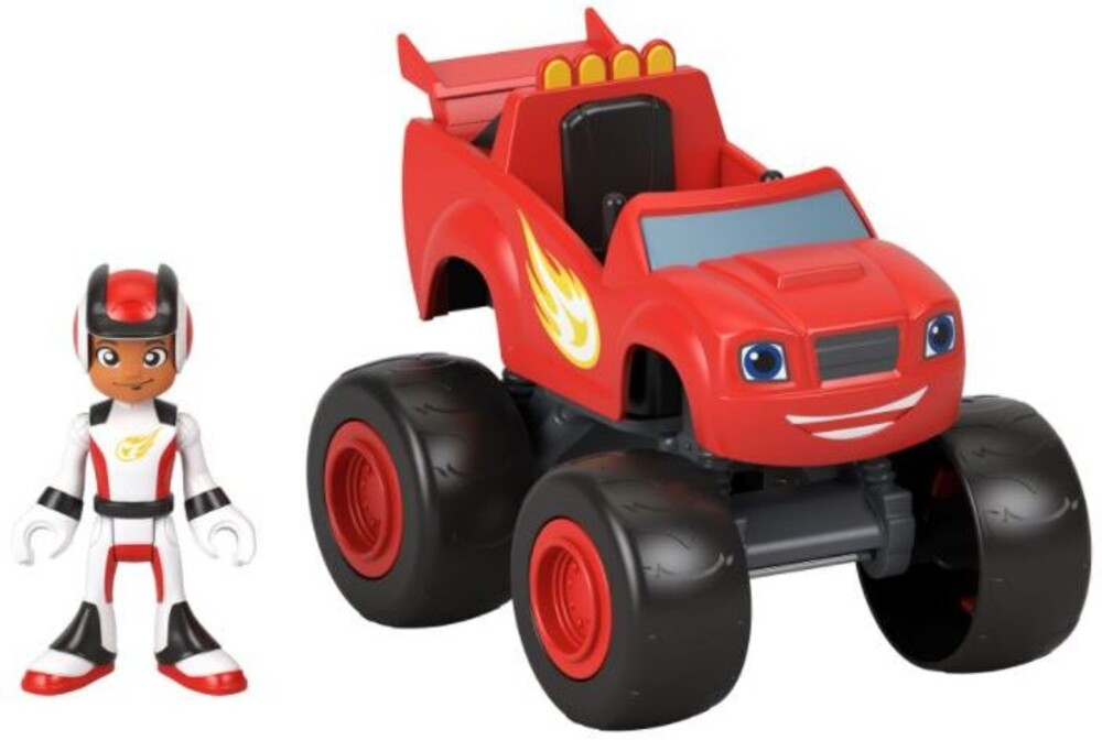 Blaze and the Monster Machines - Blaze And The Monster Machine Blaze And Aj (Fig)