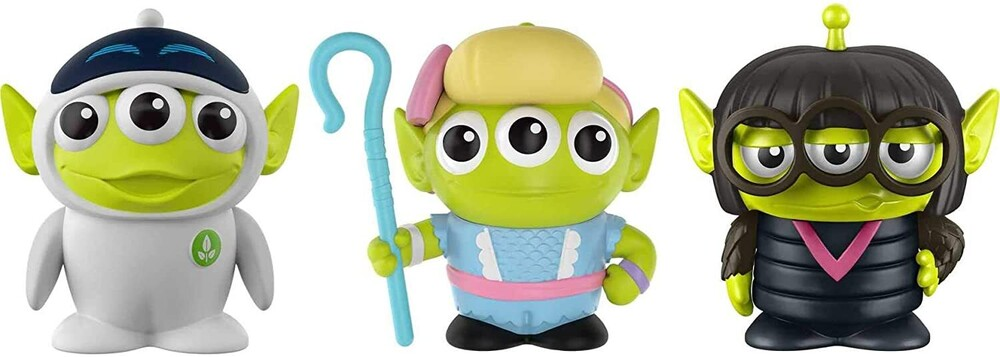 - World Of Pixar Alien Remix 3 Pack Lady Bosses