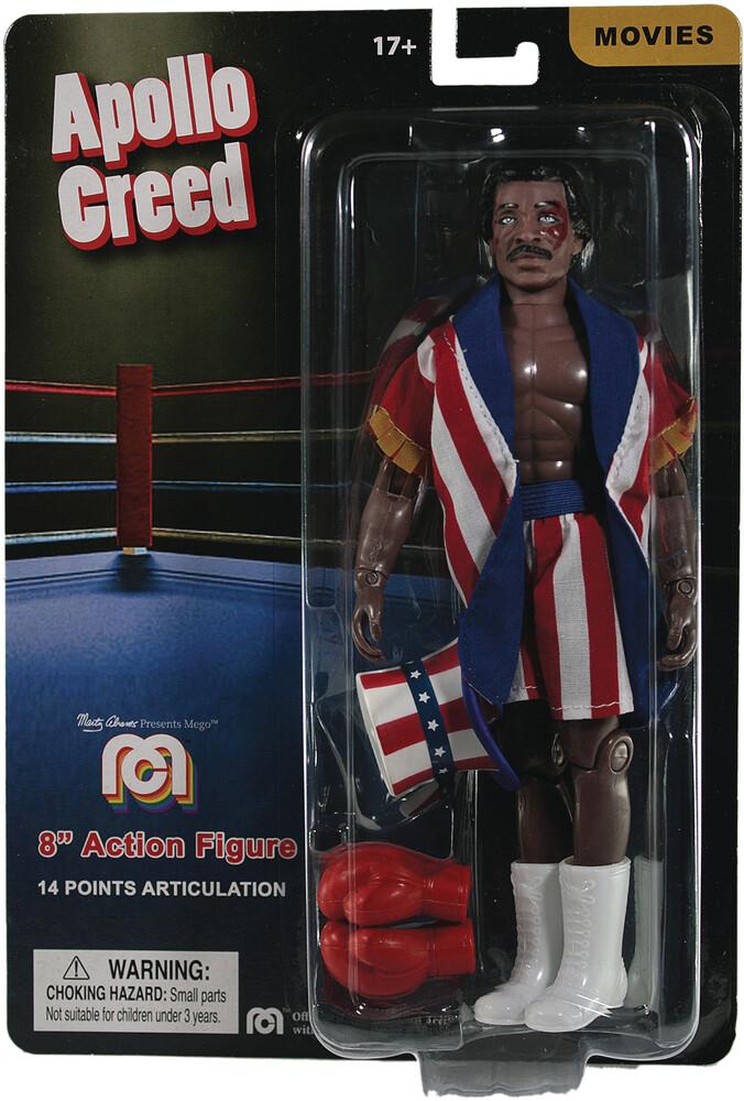 - Mego Rocky/Creed Apollo Creed 8in Af (Afig) (Clcb)