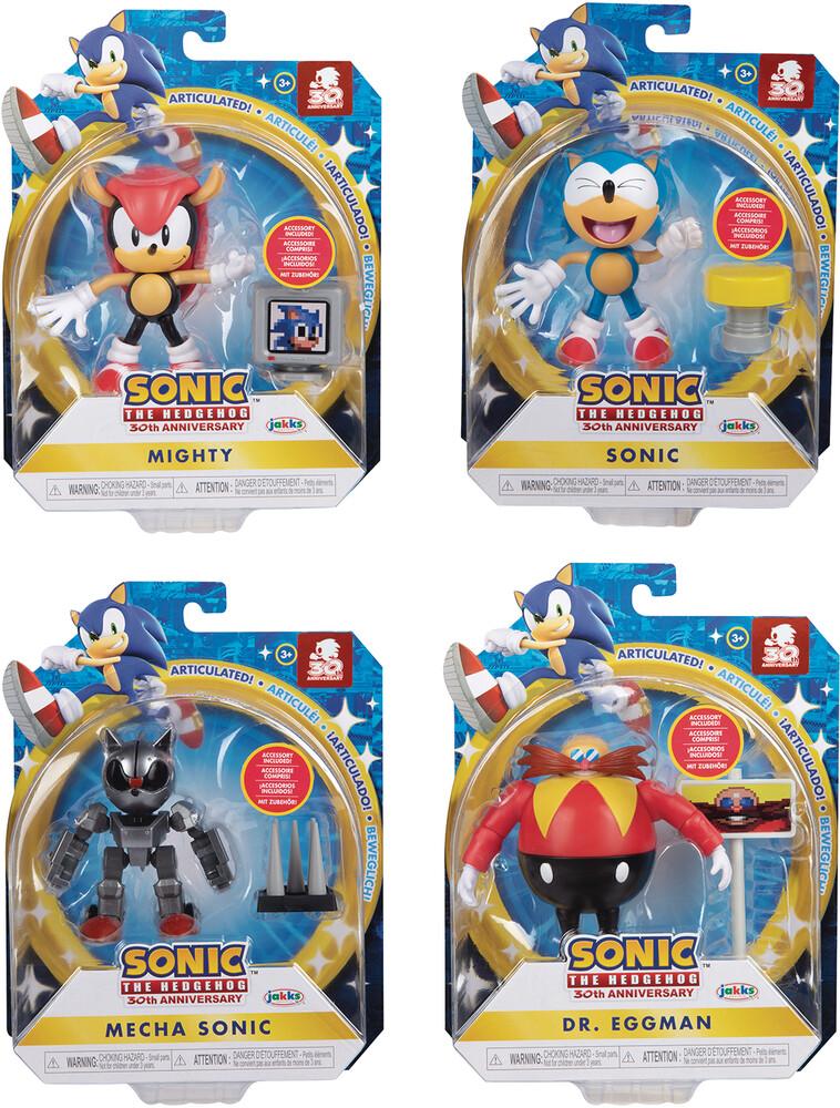 - Sonic The Hedgehog 4in Articulated Af Wv5 Asst (Ne