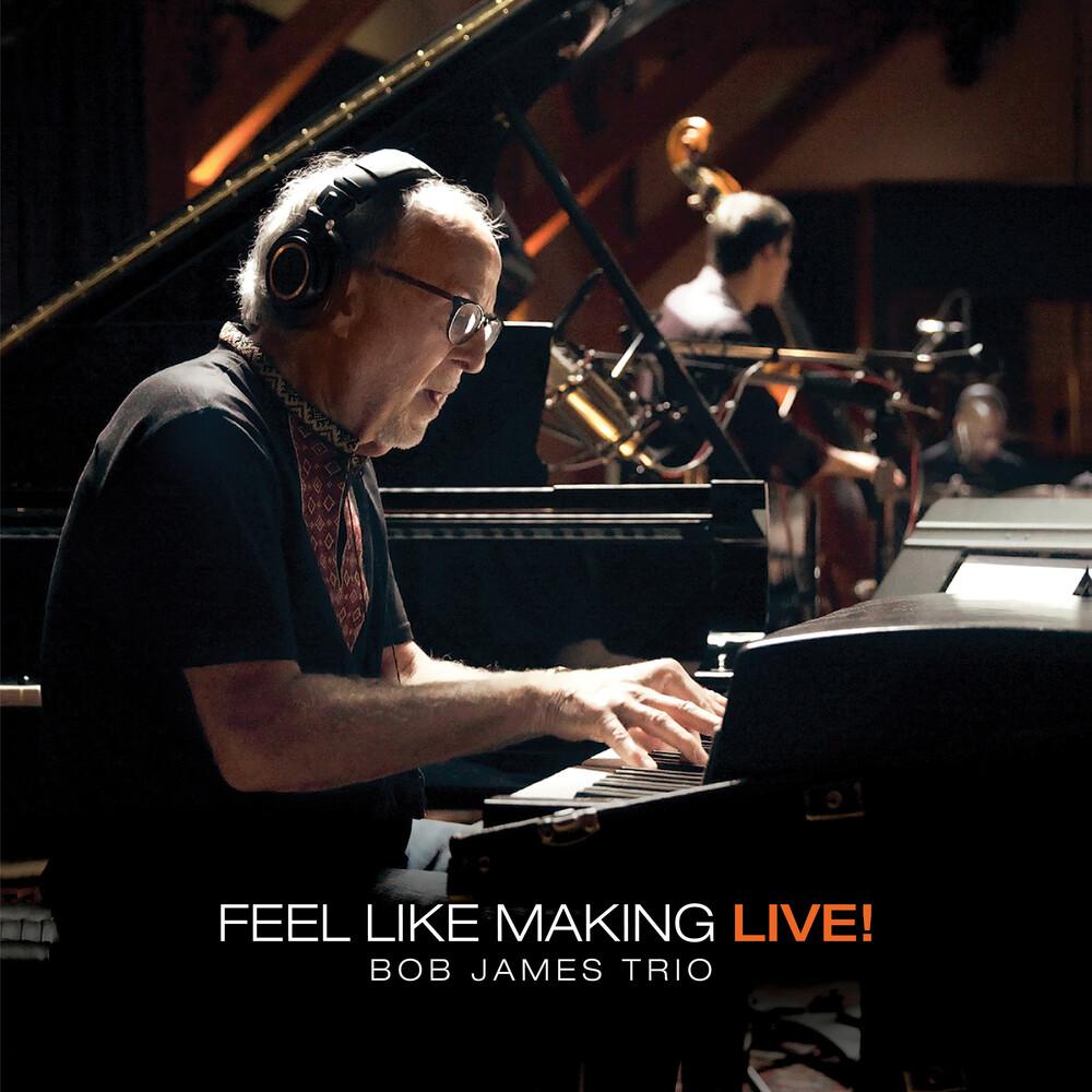 Bob James - Feel Like Making Live! (Orange Vinyl) [Colored Vinyl] [180 Gram]