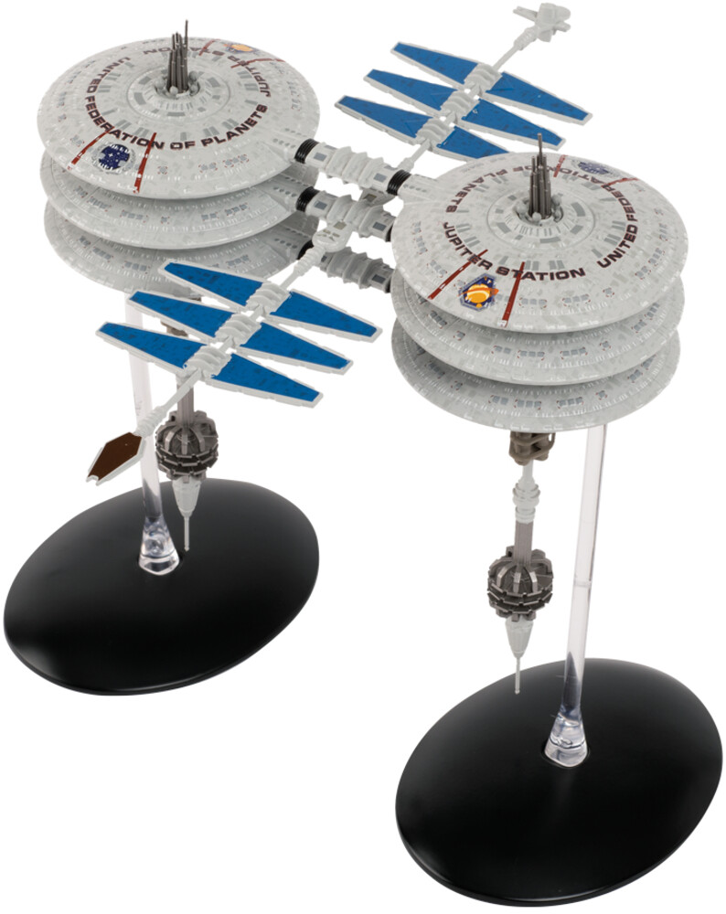 Star Trek Starships - Jupiter Station (Clcb) (Fig)