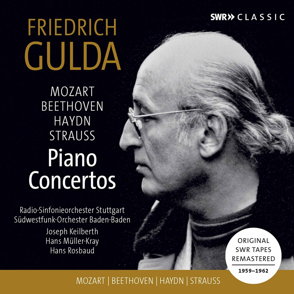 FRIEDRICH GULDA - Piano Concertos / Various (3pk)