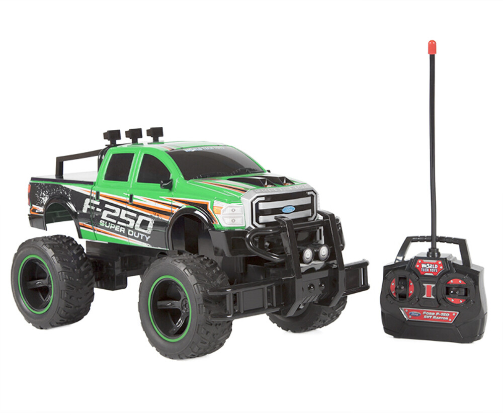 Rc Vehicles - 1:14 Ford F-250 SUPER DUTY RC Truck (One random color per transaction. Colors green, blue or red.)