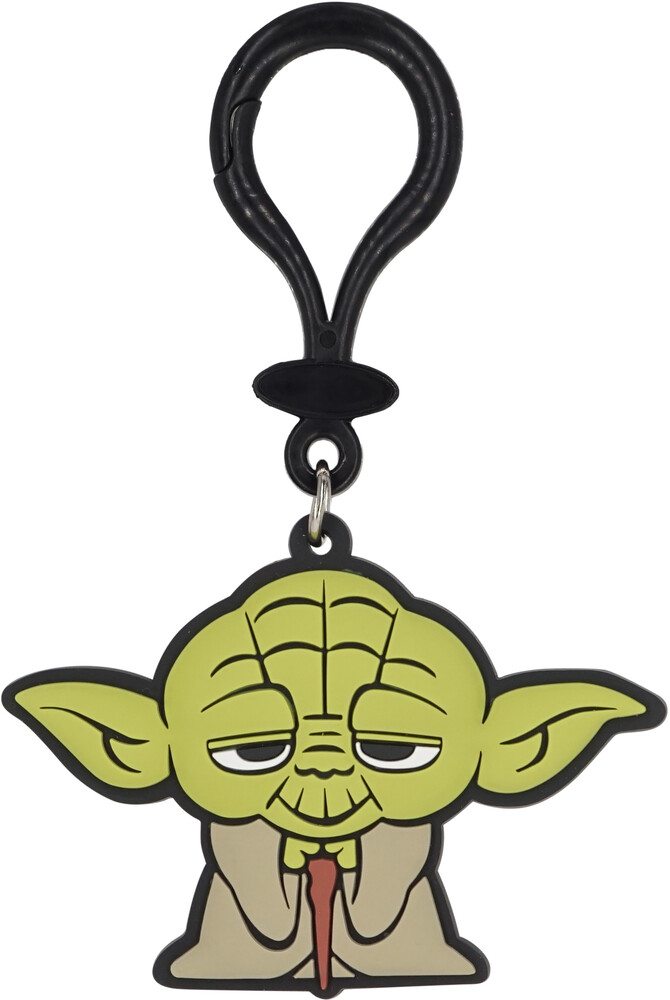 Star Wars Yoda Pvc Soft Touch Bag Clip - Star Wars Yoda PVC Soft Touch Bag Clip