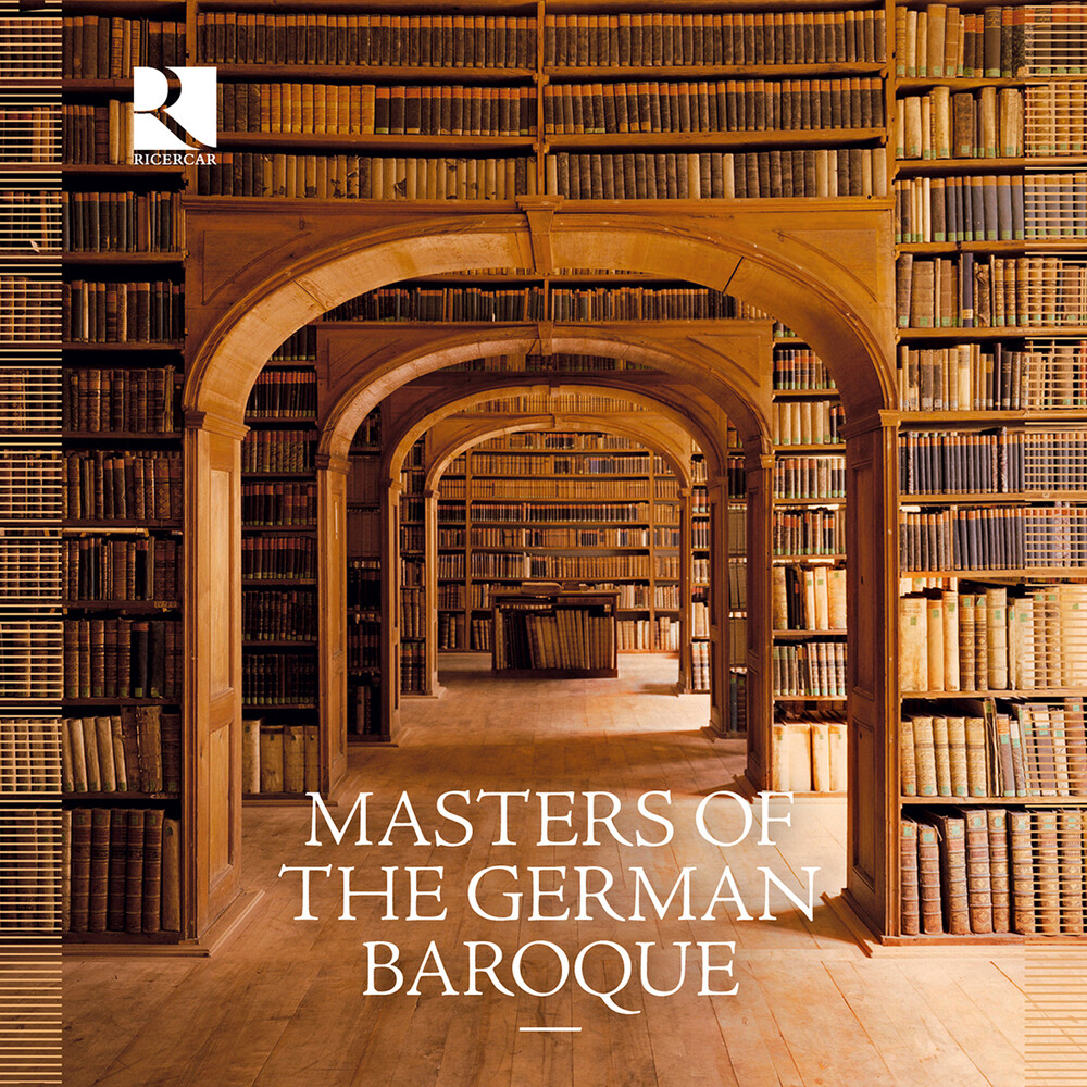 Masters Of The German Baroque / Various - Masters Of The German Baroque (Box)