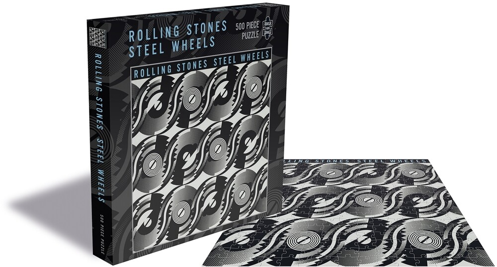 - Rolling Stones Steel Wheels (500 Piece Jigsaw Puzzle)
