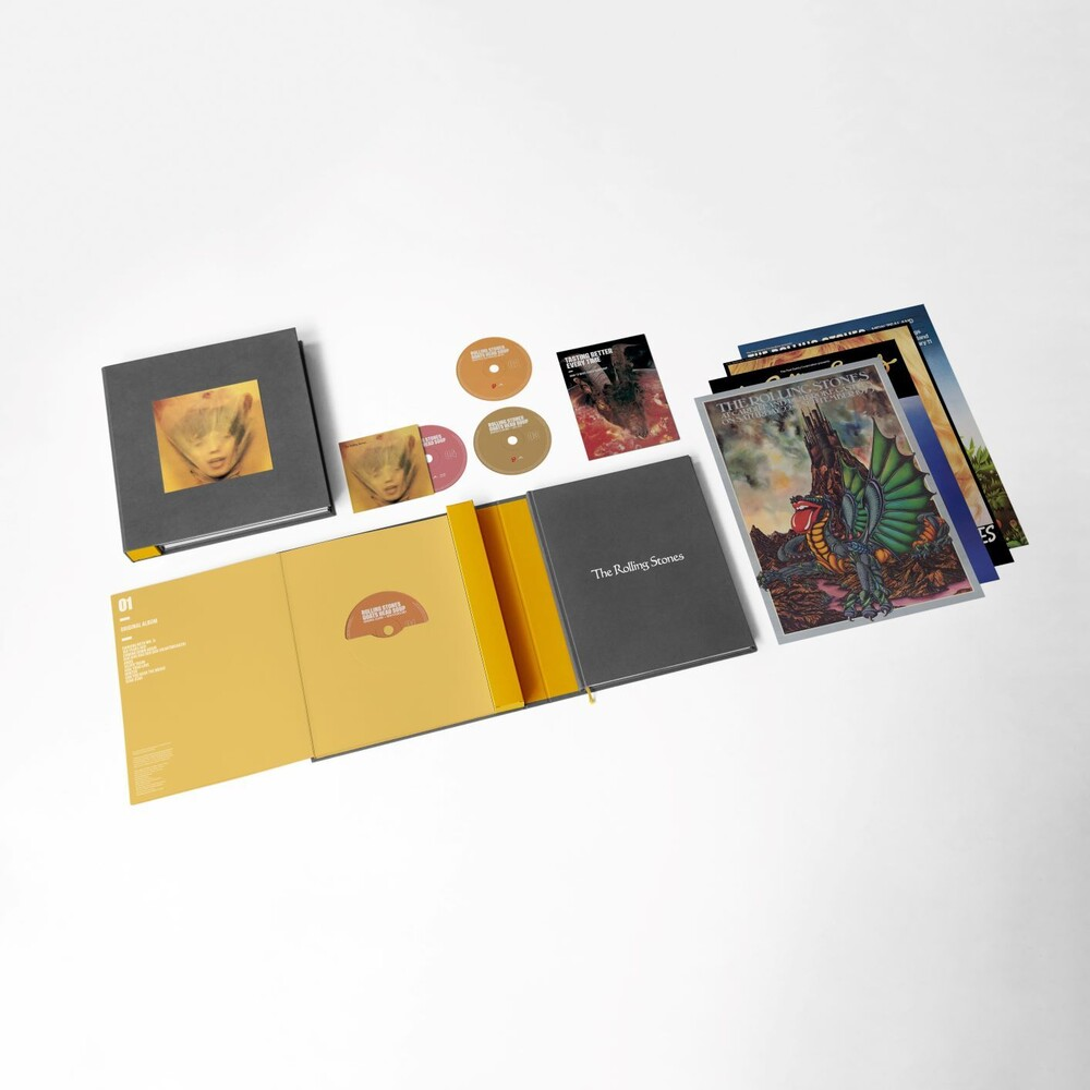 The Rolling Stones - Goats Head Soup: Remastered [3CD/Blu-ray Super Deluxe Box Set]