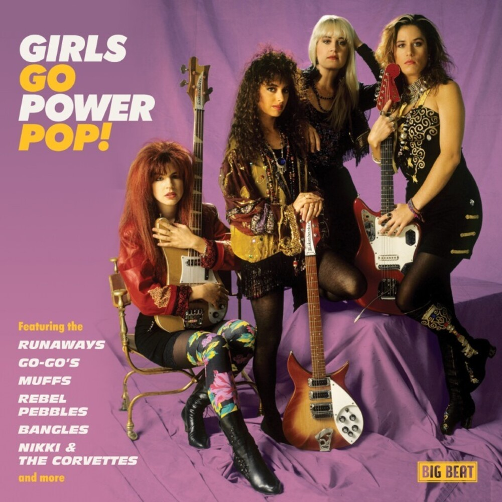 Girls Go Power Pop / Various - Girls Go Power Pop / Various (Uk)