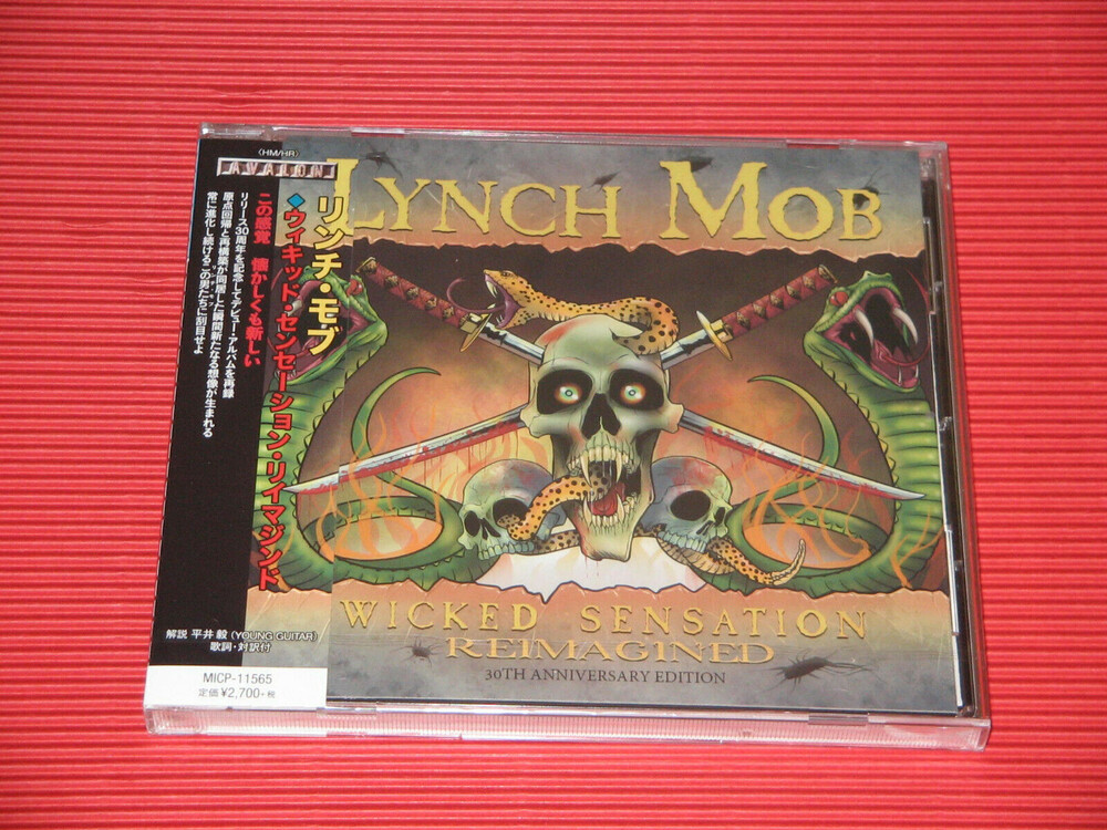 Lynch Mob - Wicked Sensation Re-Imagined (incl. Bonus Material)