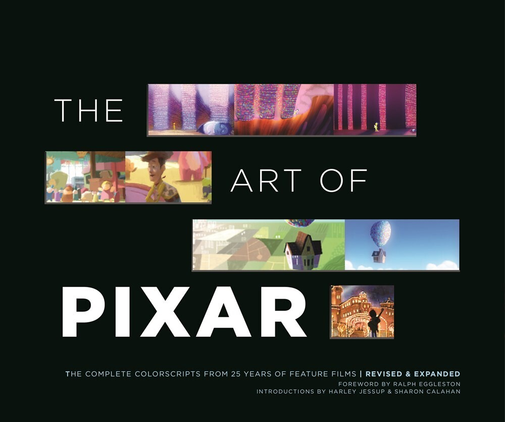 - The Art of Pixar: The Complete Colorscripts from 25 Years of FeatureFilms (Revised and Expanded)
