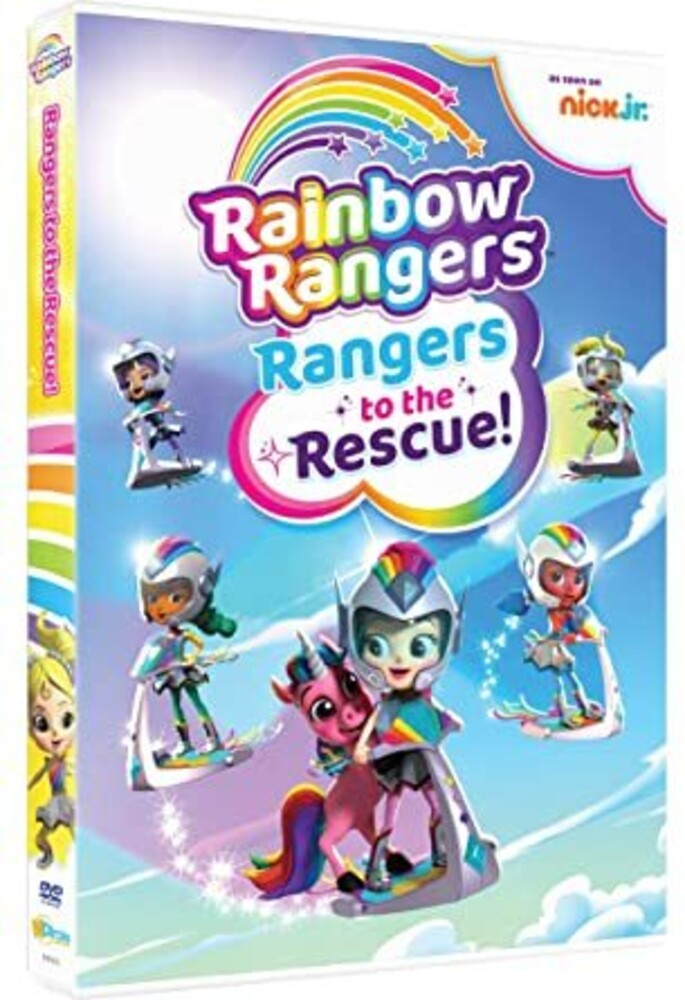 Rainbow Rangers: Rangers to the Rescue! DVD - Rainbow Rangers: Rangers To The Rescue!