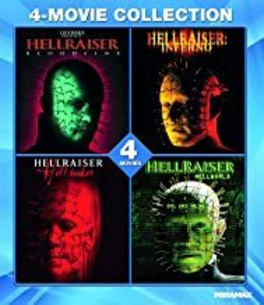 Hellraiser 4-Movie Collection - Hellraiser 4-Movie Collection / (Amar Ws)