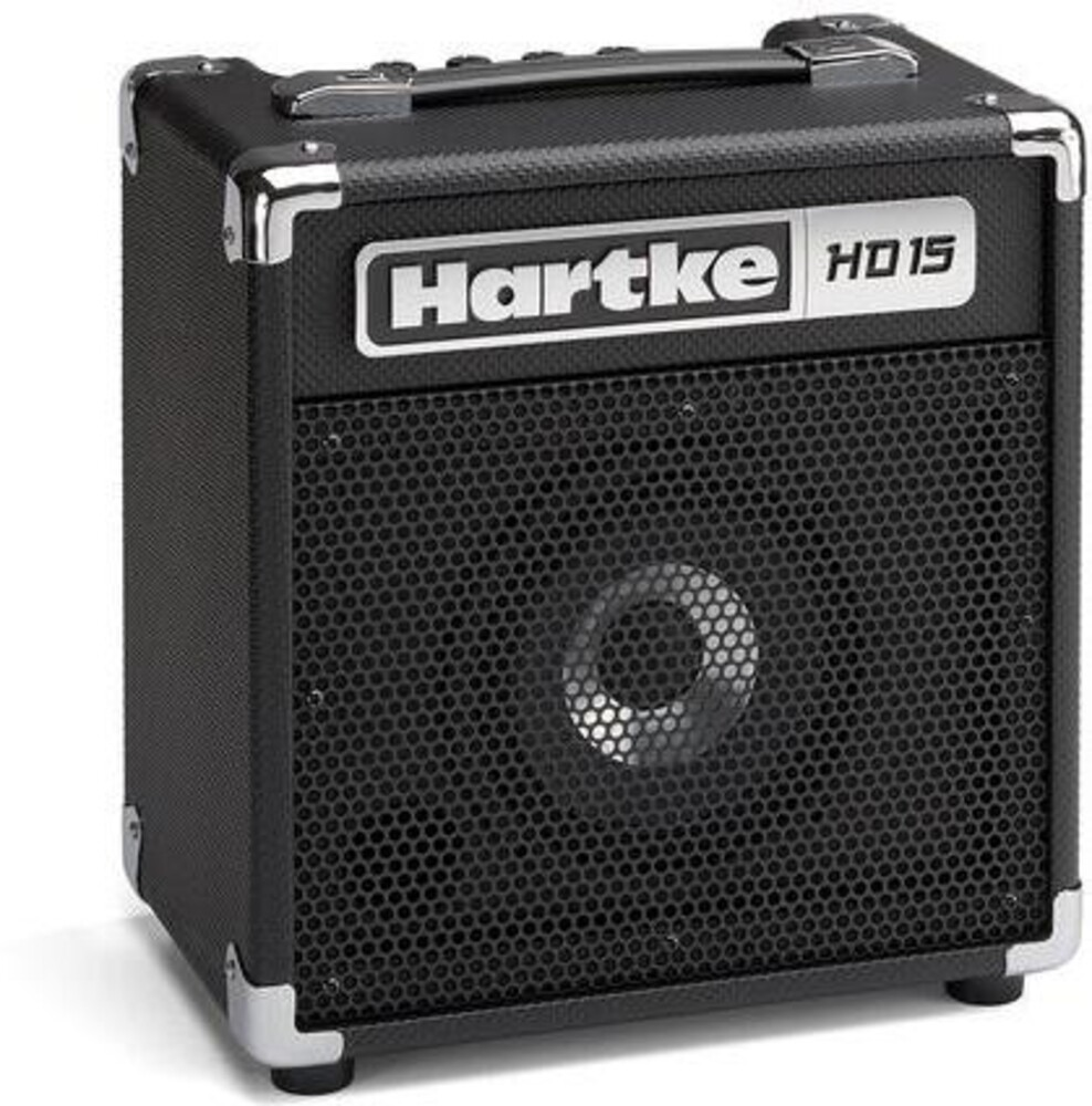 - Hartke HD15 HMHD15 Bass Guitar Combo Amp 15 Watt Inlcudes HeadphoneOutput and Aux Input (Black)