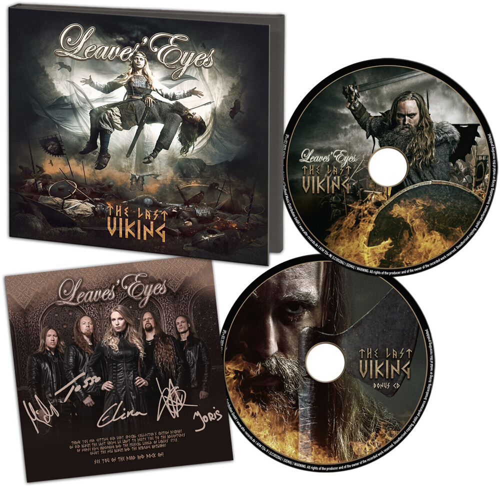 Leaves Eyes - Last Viking (Limited Edition) [Limited Edition] [Digipak]