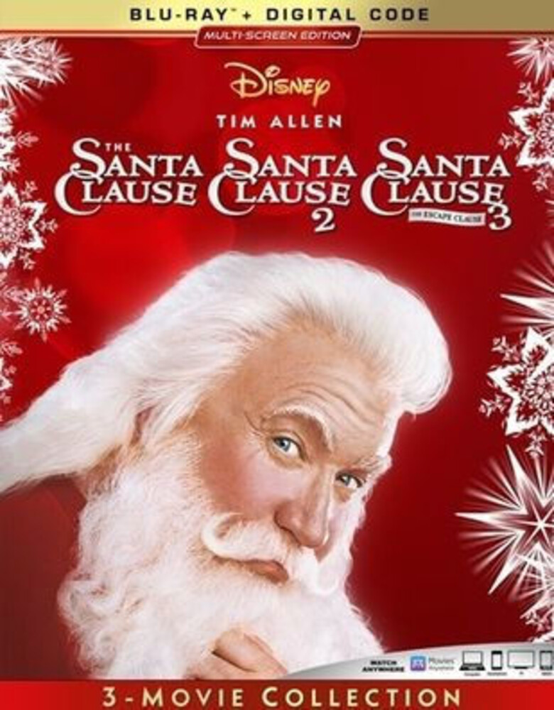 - The Santa Clause 3-Movie Collection