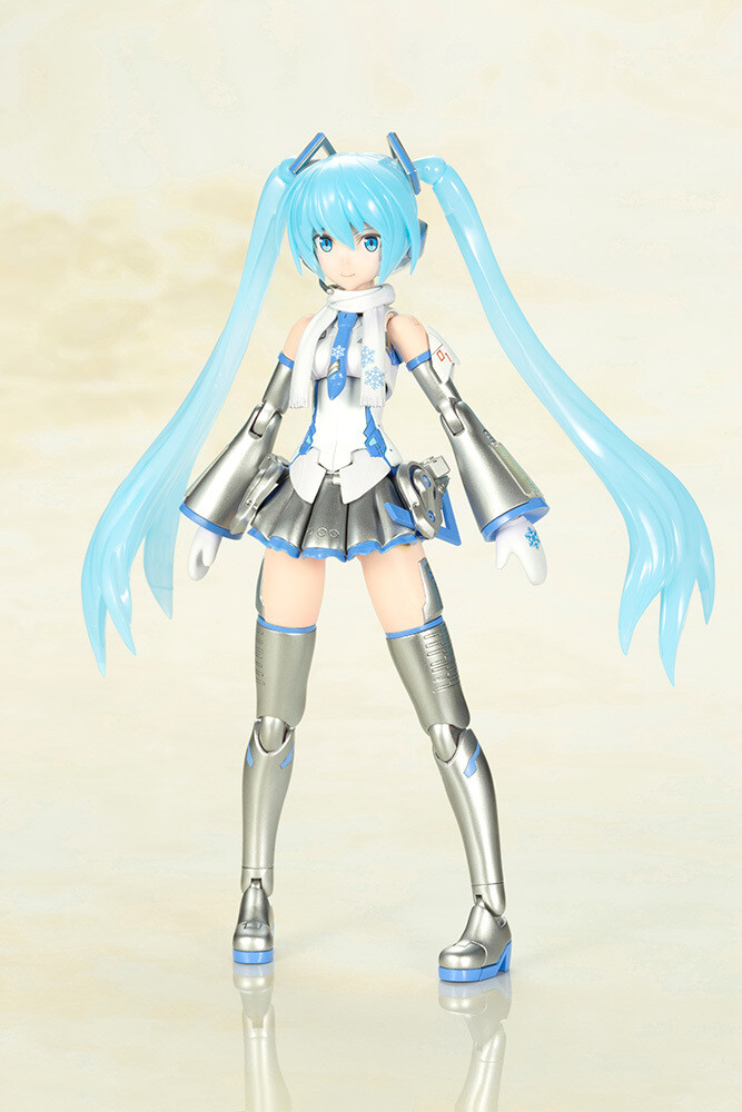 Frame Arms Girl - Frame Music Girl Snow Miku - Kotobukiya - Frame Arms Girl - Frame Music Girl Snow Miku