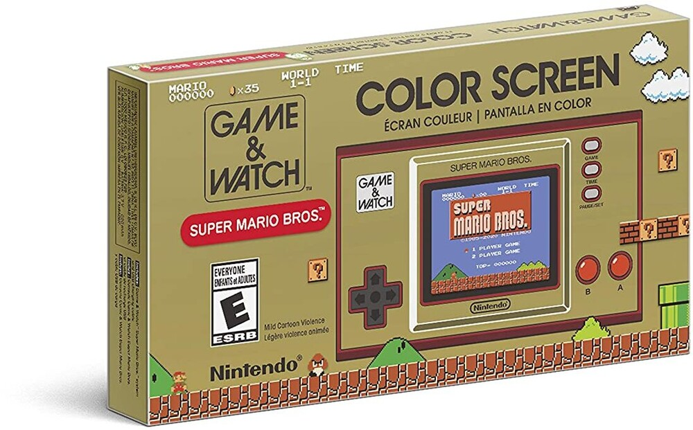 Nint System - Game & Watch: Super Mario Bros - Nintendo GAME & WATCH: SUPER MARIO BROS.