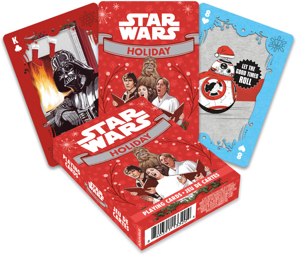 Star Wars Holidays Playing Cards Deck - Star Wars Holidays Playing Cards Deck
