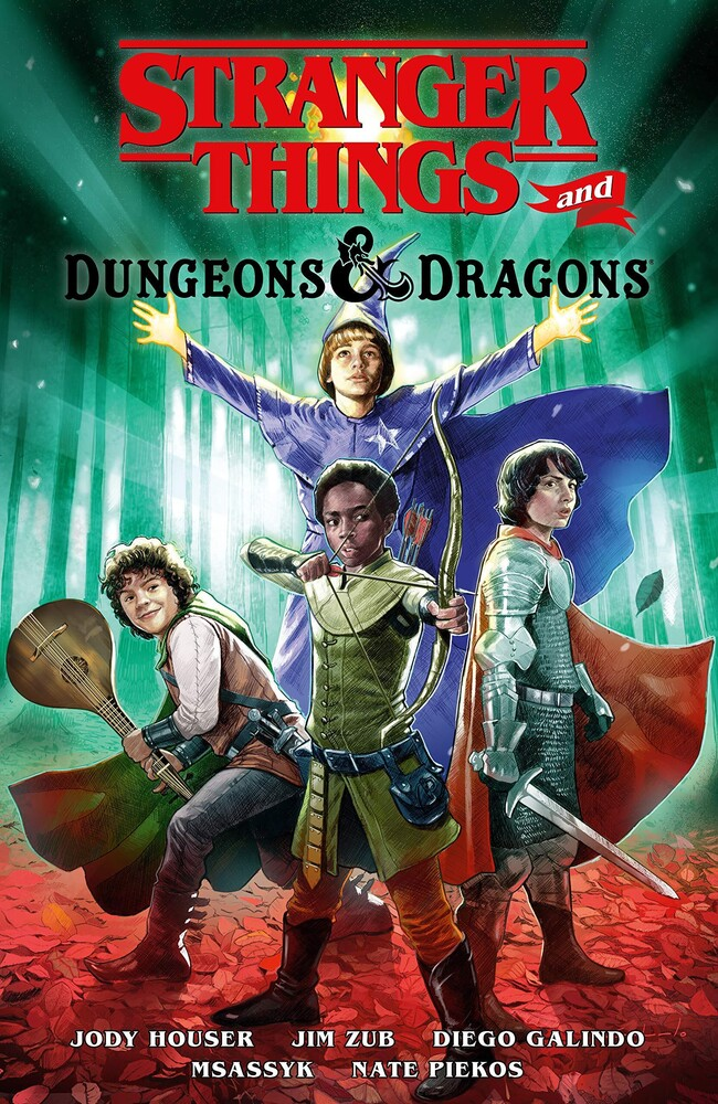 - Stranger Things and Dungeons & Dragons