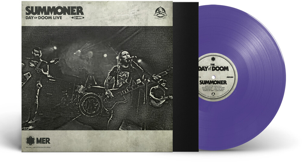Summoner - Day Of Doom Live (Purple Vinyl) [Limited Edition] (Purp)