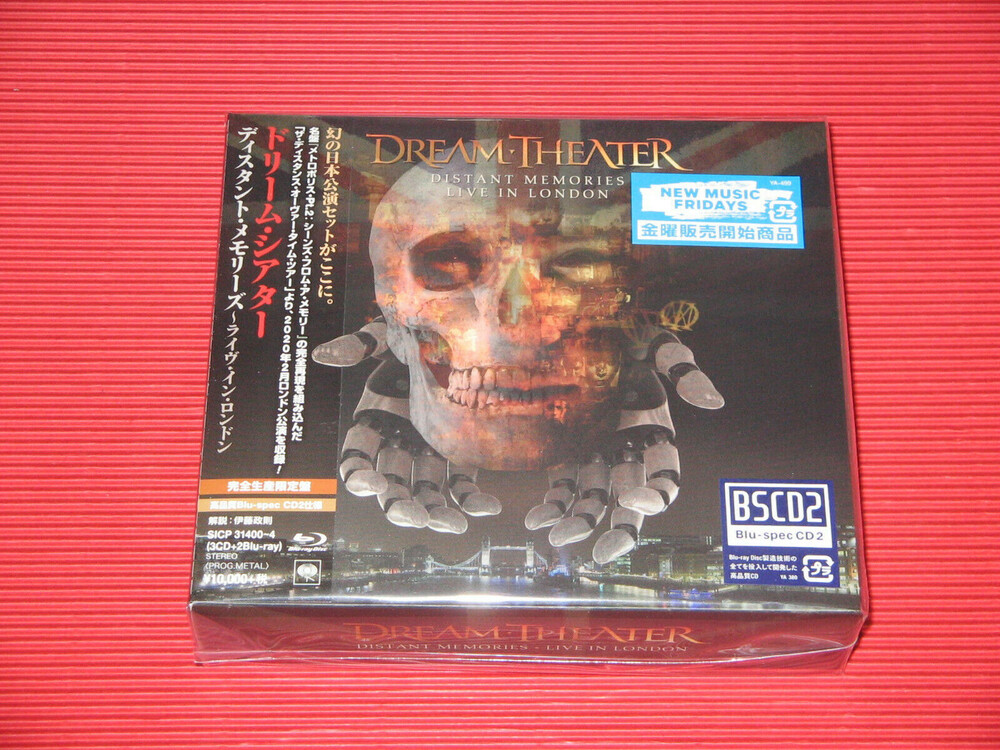 Dream Theater - Distant Memories - Live In London [Import Limited Edition]