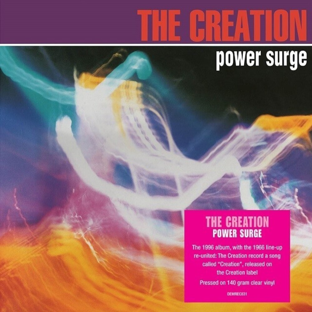 Creation - Power Surge [140-Gram Clear Vinyl]