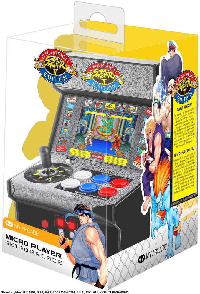 My Arcade Street Fighter II Mini Arcade - Street Fighter II Mini Arcade