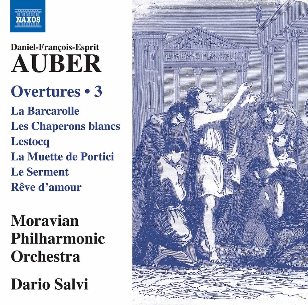 Auber / Moravian Philharmonic Orch / Salvi - Overtures 3