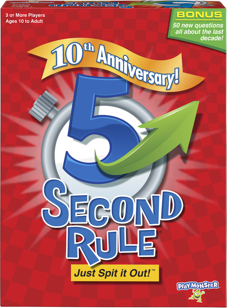 5 Second Rule Just Spit It Out! 10th Anniversary - 5 Second Rule Just Spit It Out! 10th Anniversary Edition