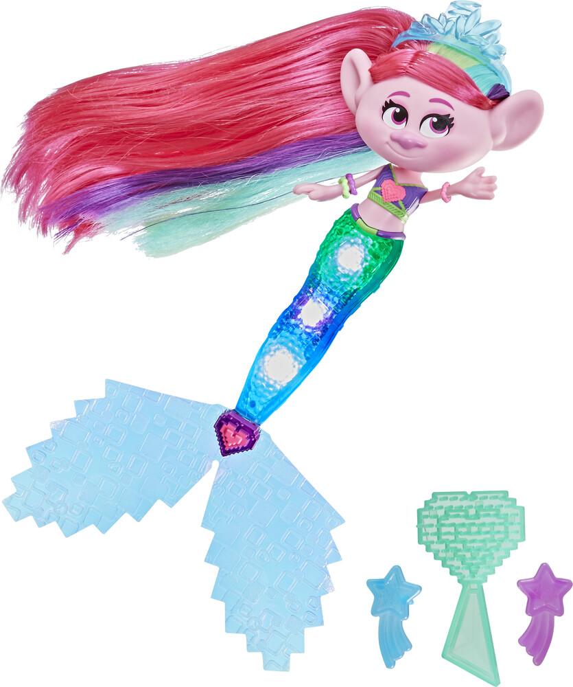 Trs Mermaid Poppy - Hasbro Collectibles - Trolls Mermiad Poppy