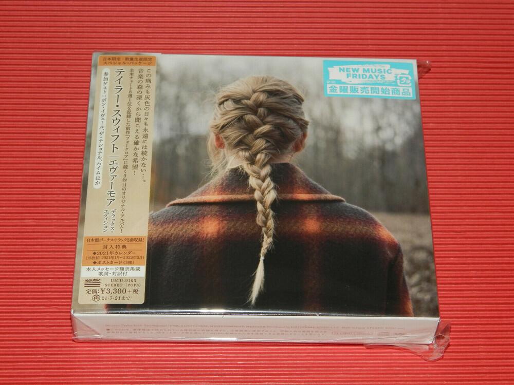 Taylor Swift - Evermore (W/Dvd) (Bonus Track) [Import Limited Edition]