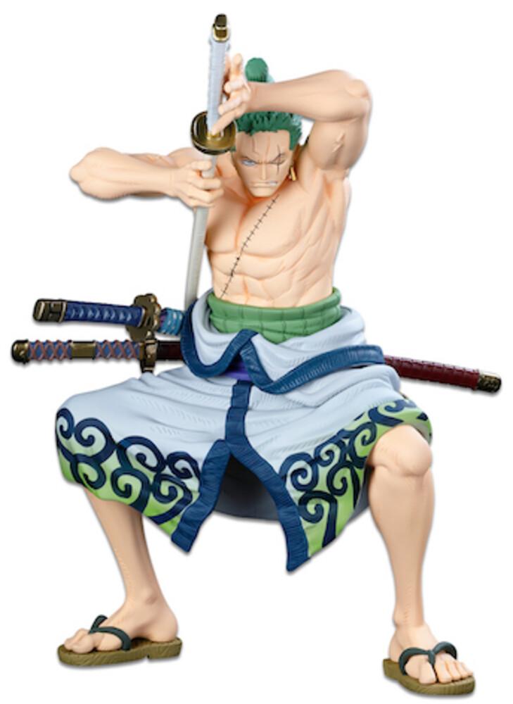 Banpresto - BanPresto - One Piece Banpresto WFC The Roronoa Zoro The OriginalFigure