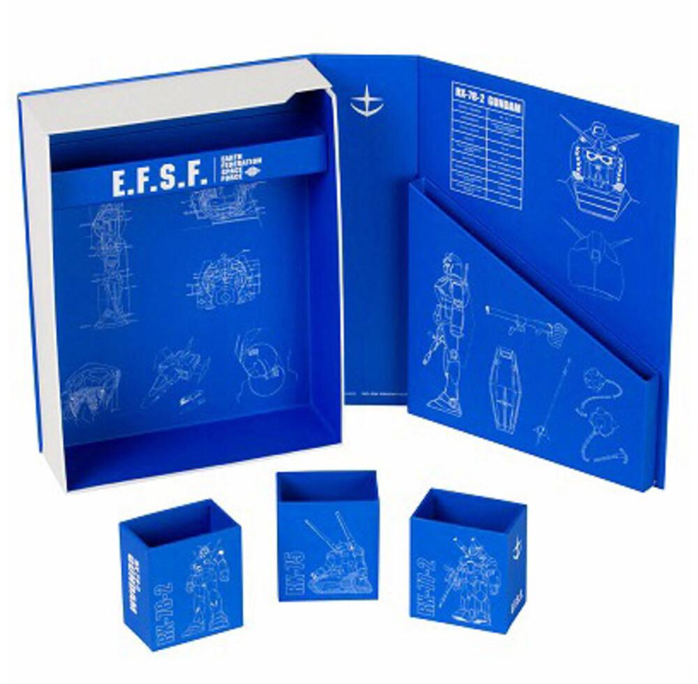 Sun Star - Gundam - Desk Tool Box Stationary 7