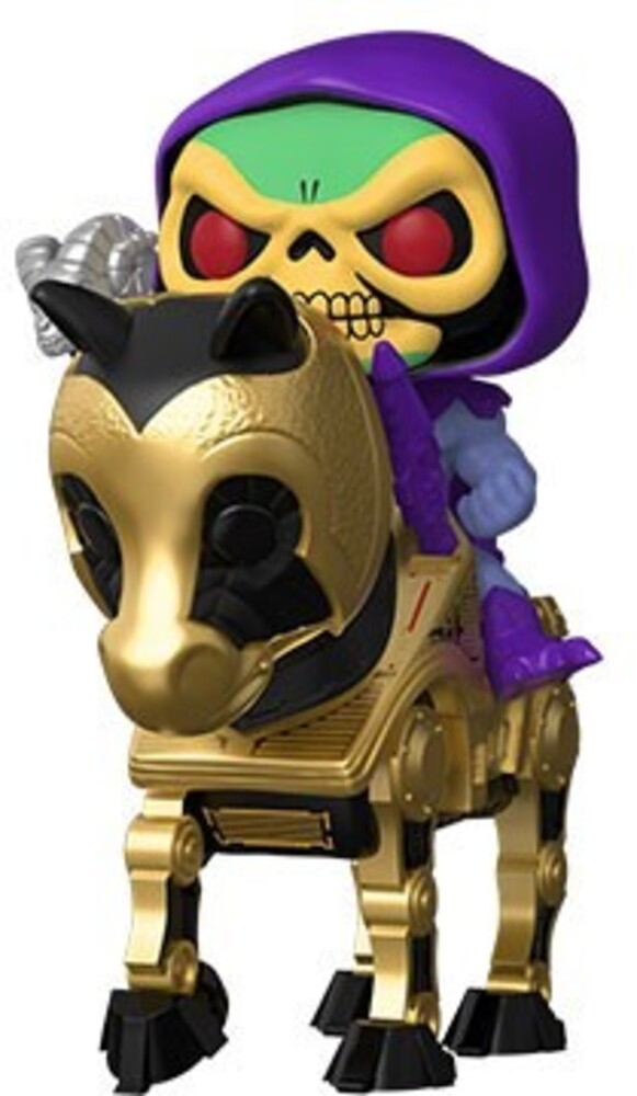 - FUNKO POP! RIDES: Masters of the Universe- Skeletor on Night Stalker