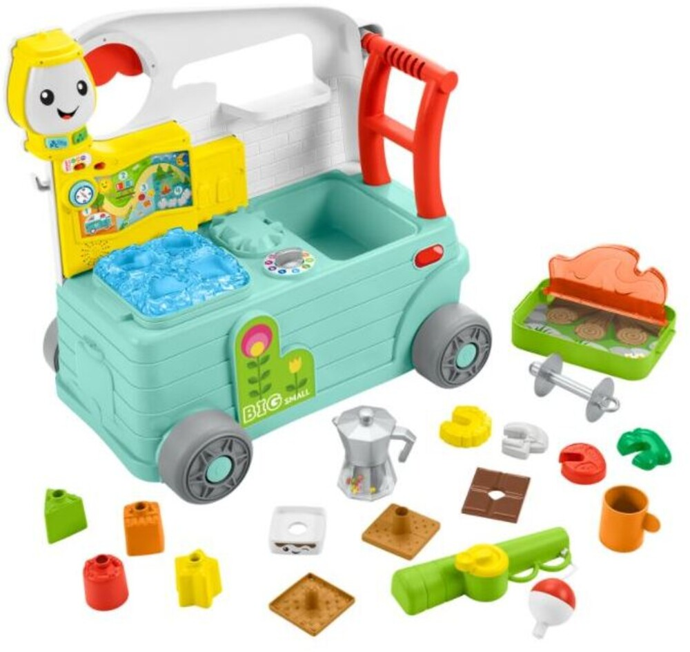 Laugh N Learn - Fisher Price - Laugh N Learn Camper