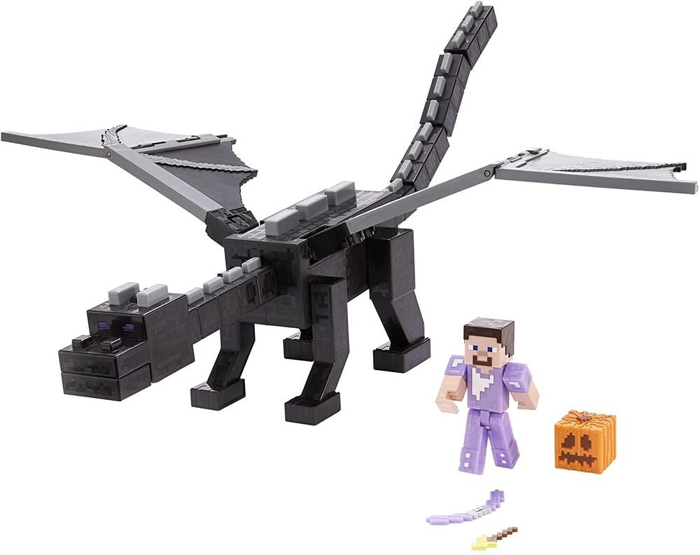 Minecraft - Mattel Collectible - Minecraft Feature Enderdragon