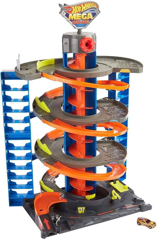 Hot Wheels - Mattel - Hot Wheels City 50 New Mega Garage