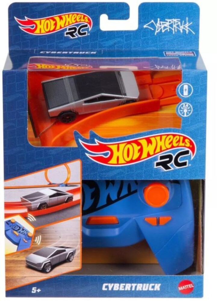 - Mattel - Hot Wheels R/C 1:64 Tesla Cyber Truck